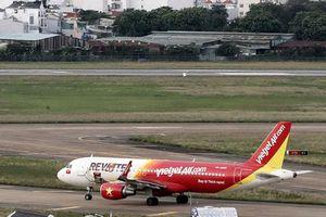 Máy bay VJA nhầm đường lăn tại Tân Sơn Nhất, Cục Hàng không lập tổ xác minh