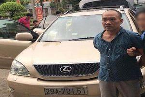 Khởi tố tổng giám đốc công ty BĐS đi xe Lexus trộm cắp tài sản liên tỉnh
