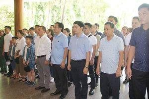 Báo Pháp luật Việt Nam bắt đầu chuyến tri ân tháng 7