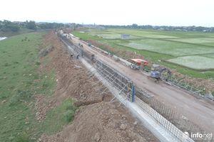 Hà Nội: Gấp rút nâng cấp đê Bùi trước mùa mưa bão 2019