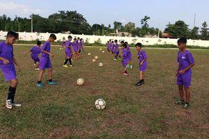 Bà Rịa-Vũng Tàu: Khởi tranh Cúp bóng đá thiếu niên nhi đồng 2019