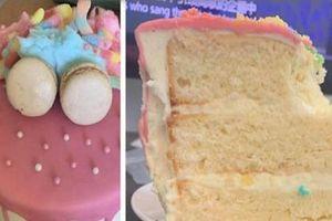 Kỳ lạ: Bánh kem để trên bàn 2 tháng không mốc
