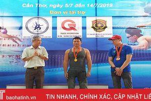 Hà Tĩnh giành 11 huy chương Giải Điền kinh và bơi lội người khuyết tật