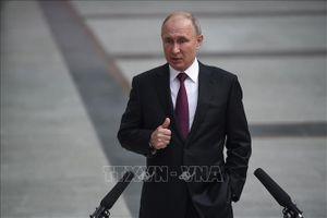 Lãnh đạo Nga, Palestine điện đàm về giải pháp Trung Đông