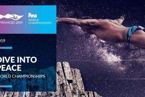 Thông điệp hòa bình của Giải Vô địch bơi lội thế giới Gwangju 2019