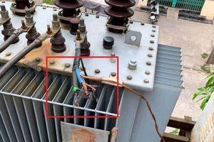Nam Định: 13 khu dân cư bị cúp điện vì kẻ gian cắt trộm cáp
