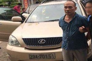 Tin mới nhất vụ lái xe Lexus trộm cắp tài sản tại trụ sở công quyền