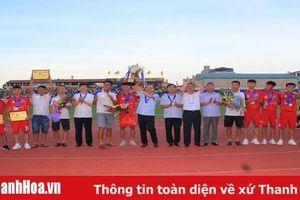 Vinh danh, trao thưởng cho đội U17 Thanh Hóa - Nhà vô địch giải bóng đá U17 quốc gia 2019