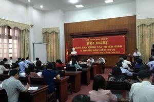 Lai Châu: Sơ kết công tác tuyên giáo 6 tháng đầu năm, triển khai nhiệm vụ 6 tháng cuối năm 2019