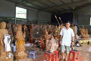 Khi trùm giang hồ khét tiếng trở thành ông chủ điêu khắc mỹ nghệ nổi tiếng