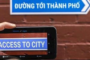 Google hỗ trợ dịch văn bản bằng camera
