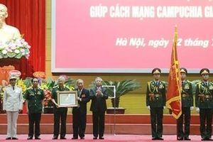 Trao tặng Huân chương Sao vàng cho lực lượng chuyên gia Việt Nam giúp cách mạng Campuchia