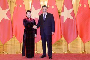 Chủ tịch Quốc hội hội kiến Tổng Bí thư, Chủ tịch nước Trung Quốc