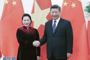 Lãnh đạo Trung Quốc khẳng định sẵn sàng thúc đẩy quan hệ với Việt Nam