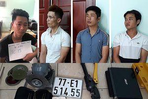 Băng trộm 1 lần lấy cắp 9 xe máy ở nhà trọ tại Gò Vấp