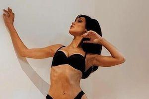 Olivia Culpo, thiên thần Victoria's Secret lộ vẻ ngoài gầy gò đáng sợ
