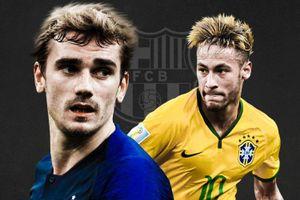 Griezmann vượt Neymar trong top 10 chữ ký đắt giá nhất của Barcelona
