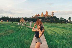 Chán Bangkok, ghé thăm vùng đất xanh mướt tuyệt đẹp gần bên