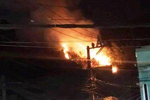 Trắng đêm dập lửa trong đám cháy giữa nội thành Quy Nhơn