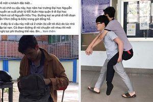 Chở sinh viên mất 2 chân không lấy tiền, anh xe ôm 'ở hiền gặp lành'