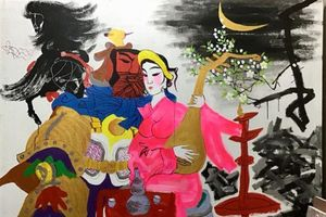 Trưng bày tranh của họa sĩ Lê Trí Dũng, Văn Chiến