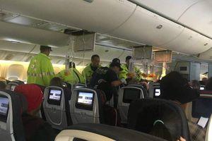 Máy bay gặp nhiễu động, 35 khách bị thương