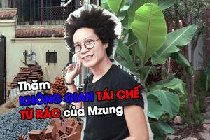 'Choáng' với không gian tái chế từ rác của nữ đạo diễn Mzung