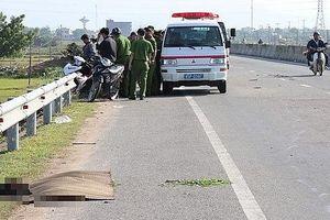 Phát hiện thi thể bị cán nát trên quốc lộ 1A