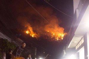Diễn biến mới nhất vụ cháy dữ dội trên núi Bà Hỏa khiến cả TP Quy Nhơn náo loạn