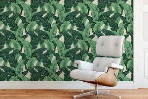 Trang trí tường với hình nền các loại thực vật - xu hướng đang rất phổ biến trong những năm gần đây
