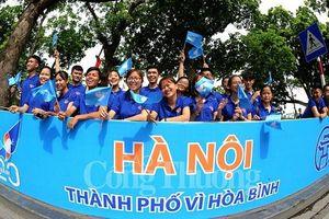 Hà Nội kỷ niệm 20 năm đón nhận danh hiệu 'Thành phố vì hòa bình'