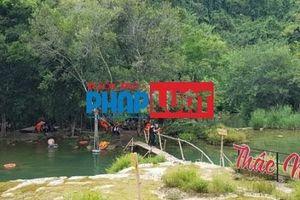Khu du lịch sinh thái Thác Mơ hoạt động 'chui'