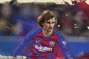 Antoine Griezmann ký hợp đồng 5 năm với Barca, kiếm 105 triệu Euro
