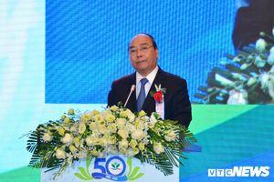 Thủ tướng thăm và chúc mừng lễ kỷ niệm '50 năm xây dựng và phát triển Bệnh viện Nhi Trung ương'