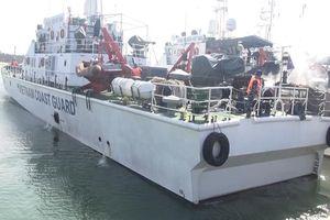 Cảnh sát biển điều tàu ra Hoàng Sa cứu nạn tàu cá