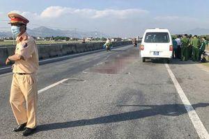 Tranh cãi trách nhiệm vụ tài xế đâm chết người đi bộ qua đường quốc lộ