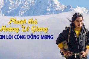 'Phượt thủ' Hoàng Lê Giang là ai, vì sao phải xin lỗi mọi người?