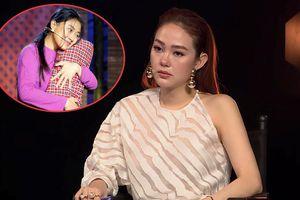 Minh Hằng bật khóc vì vợ trẻ kém 30 tuổi của danh hài Lê Huỳnh