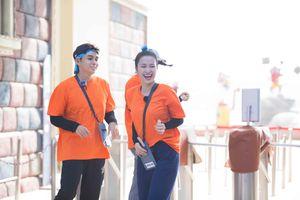 Đông Nhi xuất sắc giành chiến thắng tại cuộc đua căng thẳng Chạy Đi Chờ Chi