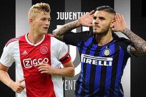 Juventus nổ liền hai 'bom tấn' De Ligt và Icardi