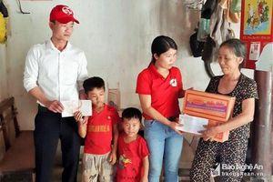 Hoạt động thiết thực vì người nghèo ở Nam Đàn và Tân Kỳ