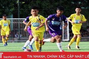 2 cầu thủ Hà Tĩnh góp công, chung kết Giải Thiếu niên toàn quốc thành 'chuyện nội bộ' SNLA