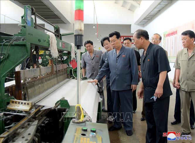 Tân Thủ tướng Triều Tiên thị sát khu vực bị ảnh hưởng bởi hạn hán