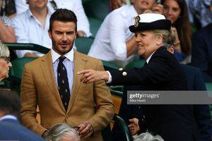 Beckham cực bảnh, 'đốt mắt' khán giả Wimbledon