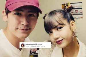 Nichkhun (2PM) đăng ảnh chụp chung với Lisa (BlackPink), nữ HLV The Face Thái Lan vội vàng bày tỏ… ghen tỵ