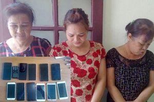 Bắt 3 'nữ quái' lớn tuổi đến Sầm Sơn thuê nhà trọ thực hiện hơn 10 vụ trộm cắp trong 1 ngày
