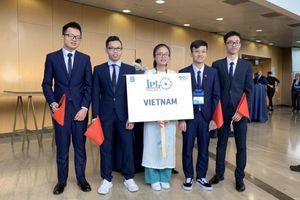 Học sinh Việt Nam giành ba huy chương Vàng Olympic Vật lý quốc tế 2019