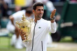 Novak Djokovic: Vỡ òa giây phút đăng quang ngôi vương Wimbledon 2019