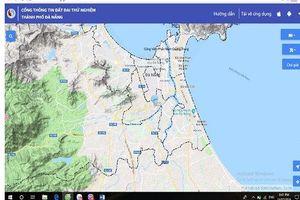 Đà Nẵng: Vận hành thử nghiệm Cổng thông tin đất đai