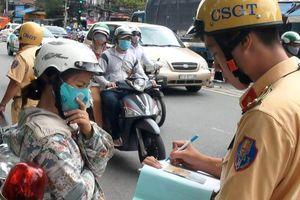 TP HCM ra quân xử lý vi phạm giao thông
